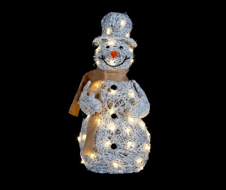 Dekoracja świetlna Winter Snowman