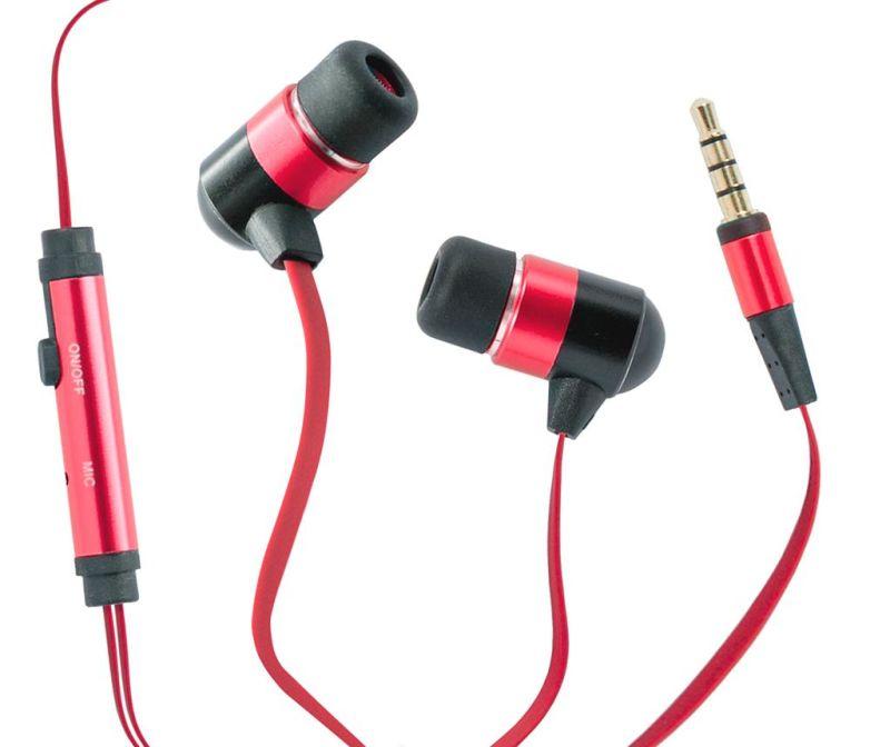 Slušalice hi-Flat Red