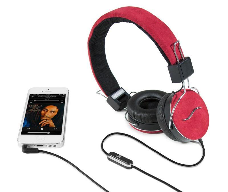 Slušalice hi-Deejay Nappa Red