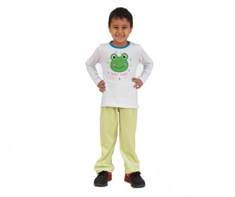 Sada triko a kalhoty pro děti Rain Kero Green