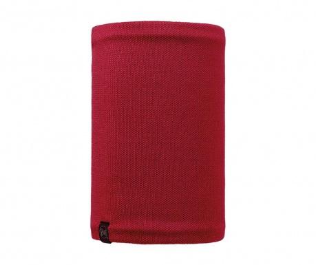 Kruhová šála unisex Buff Neo Red 24.5x53 cm