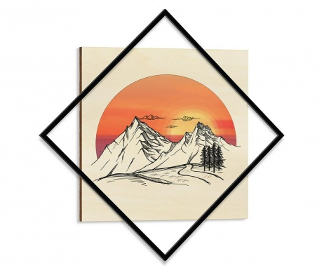 Obraz Sunset 64x64 cm