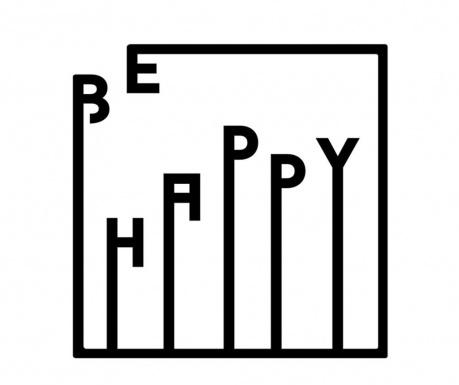 Стенна декорация Happy