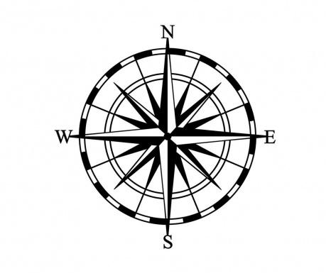 Nástěnná dekorace Compass