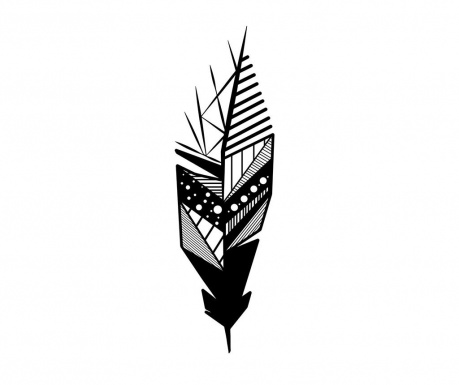 Nástěnná dekorace Featrher