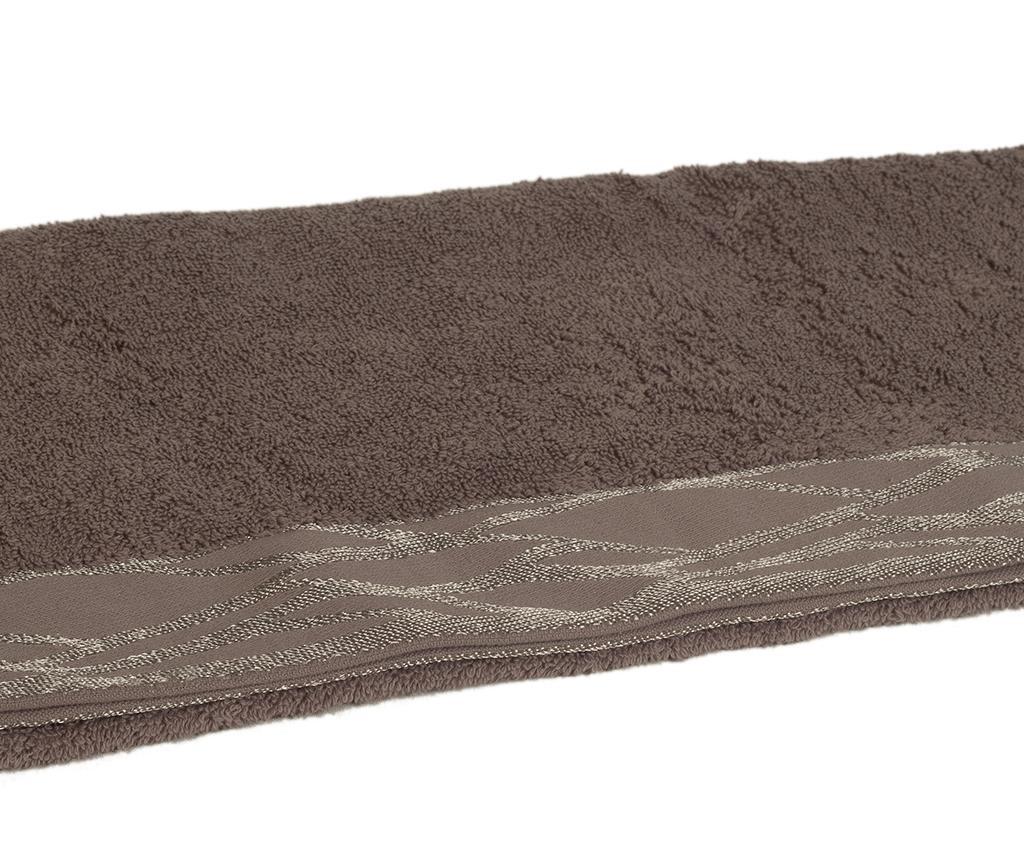 Mira Grey Fürdőszobai törölköző 50x90 cm