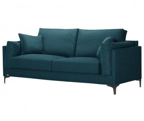 Třímístná pohovka Desire Turquoise