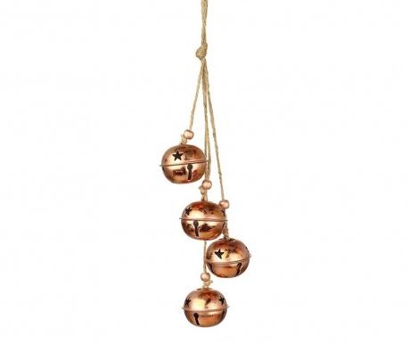 Decoratiune suspendabila Jolly Copper Bells