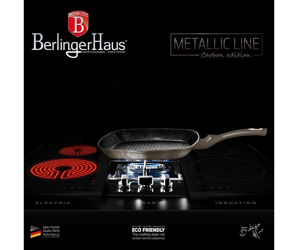 Tigaie grill Metallic Carbon 28x28 cm