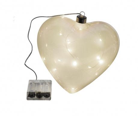 Светеща декорация Smoky Heart