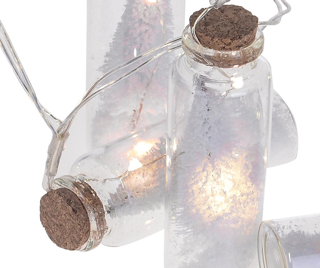 Ghirlanda luminoasa White Tree Bottles 60 cm