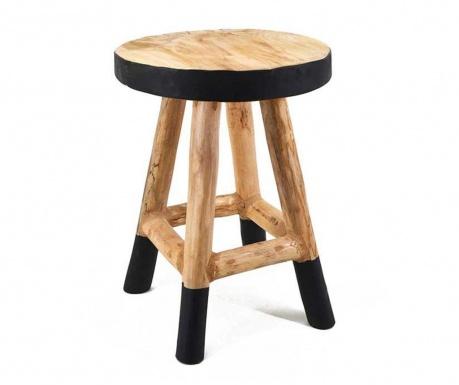 Židlička Marsella Natural Black