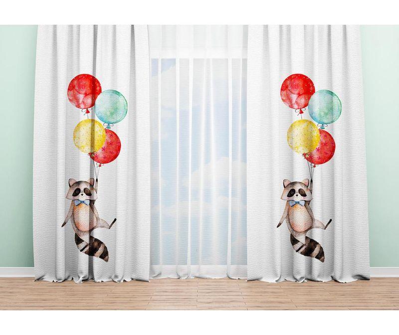 Set 2 draperii Ratoon 140x240 cm