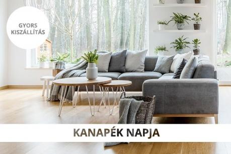 Kényelmes kanapék és sarokkanapék