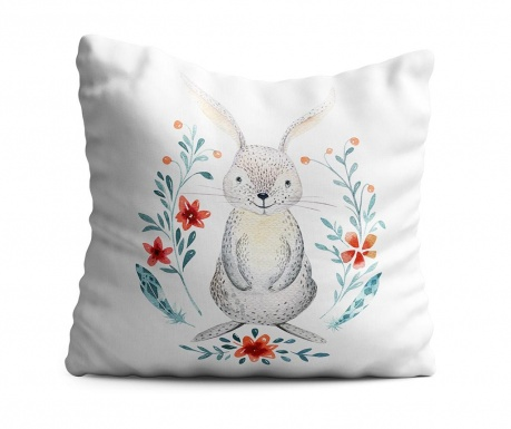 Perna decorativa Rabbit 43x43 cm