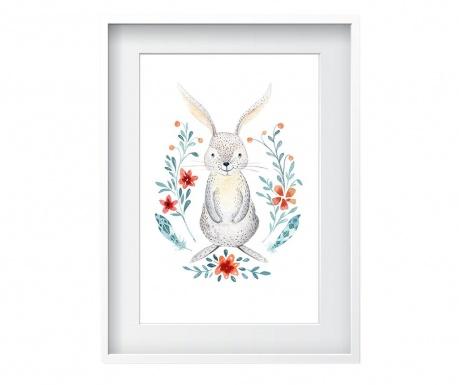 Картина Rabbit 24x29 см