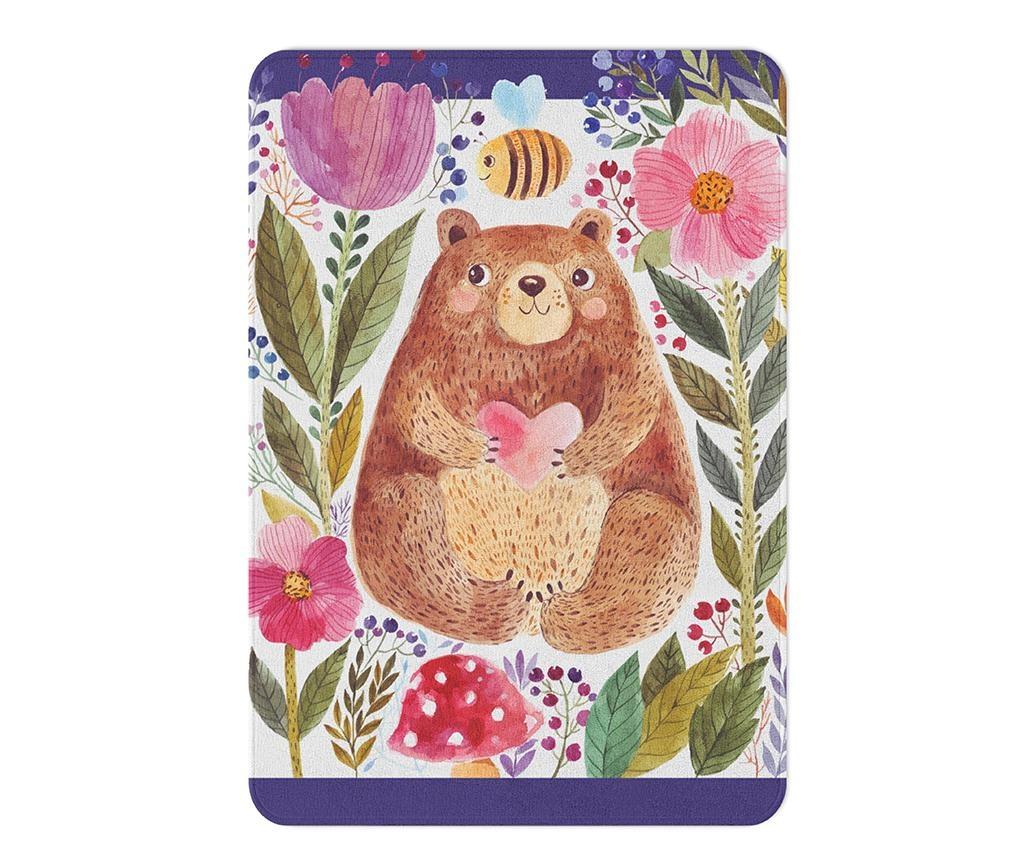 Covor pentru copii Bear Love 80x140 cm
