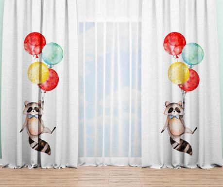 Závěs Raccoon Balloons 140x240 cm