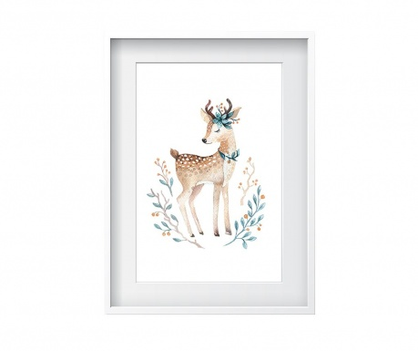 Картина Beautiful Deer 24x29 см
