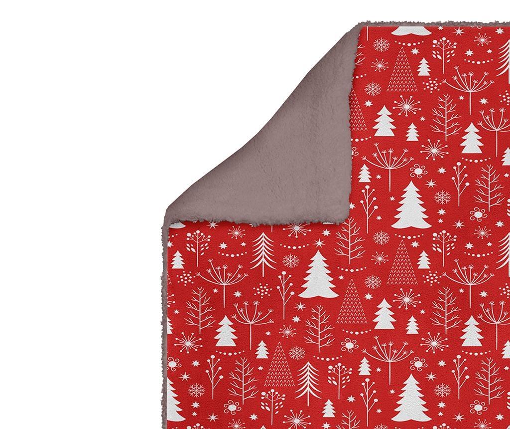 Odeja Christmas Trees 160x220 cm