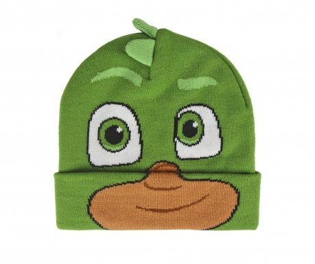 Otroška zimska kapa Pj Masks Gekko 52 cm