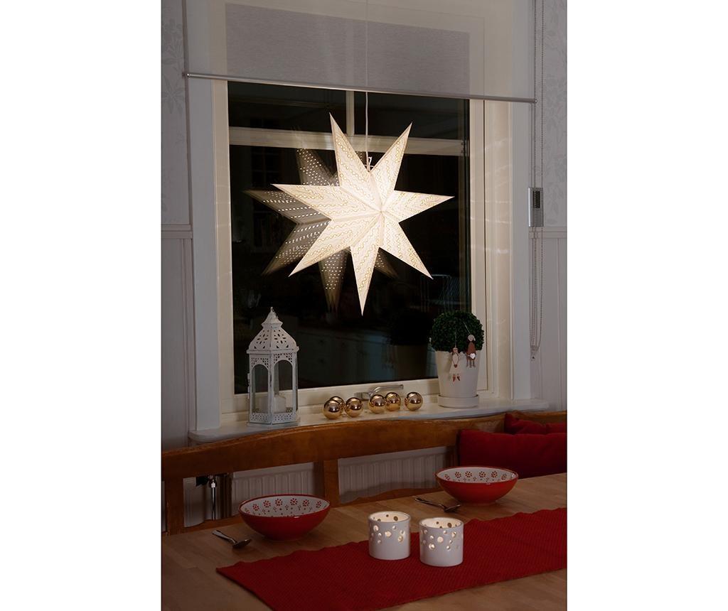 Viseča svetlobna dekoracija Elend White