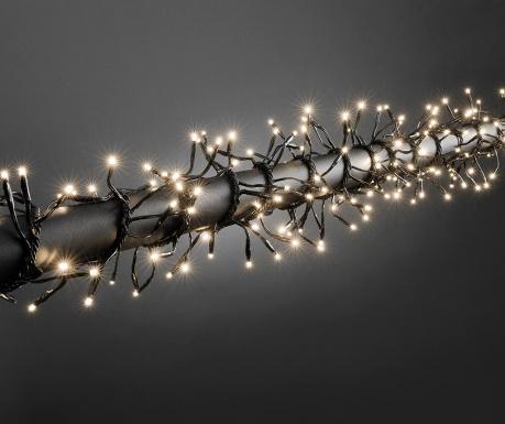 Ghirlanda luminoasa pentru exterior Tinadri Black 300 cm