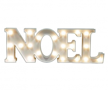 Ścienna dekoracja świetlna Noel