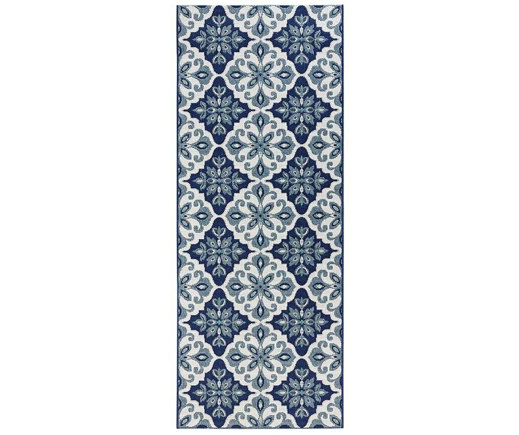 Covor Jewel Blue 80x200 cm