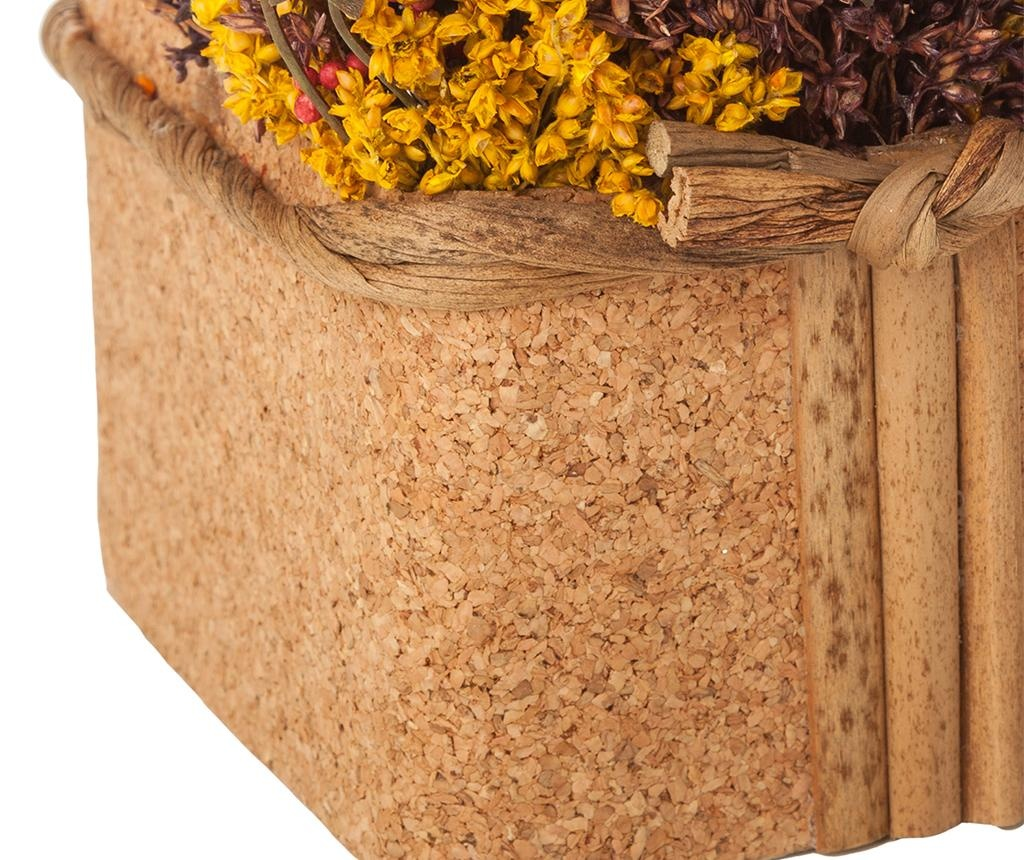 Lončnica iz posušenega cvetja Almond