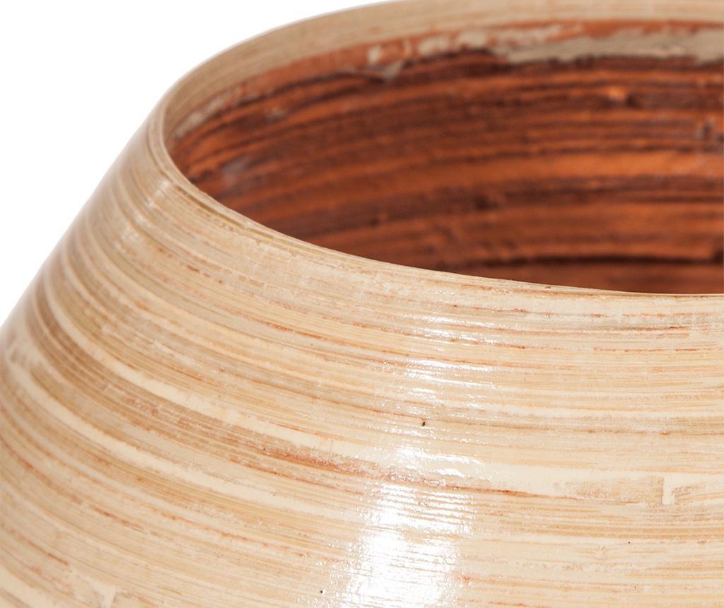 Bamboo Copper Round Váza