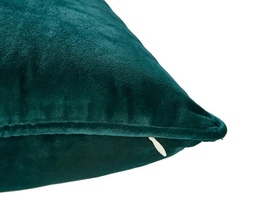 Laverne Dark Green Párnahuzat 45x45 cm