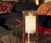 LED sveča Transparent