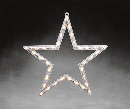 Висяща светеща декорация Star Silhouette