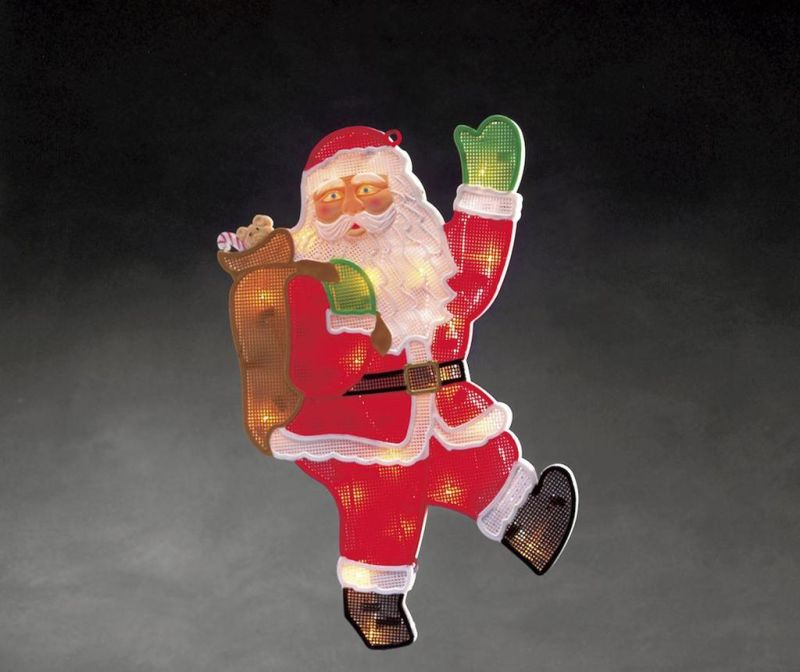 Decoratiune luminoasa Santa Claus Bye