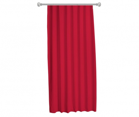 Draperie Julia Red 140x270 cm