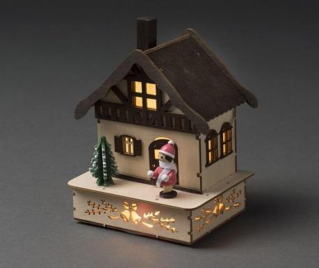 Decoratiune luminoasa Timber House