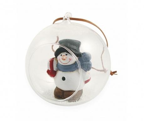 Decoratiune suspendabila Playful Snowman