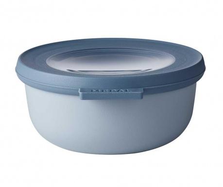 Κουτί αποθήκευσης με καπάκι Circula Nordic Blue 350 ml