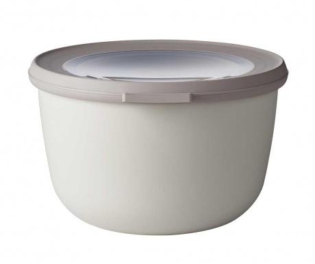 Caserola Circula Nordic White 1 L