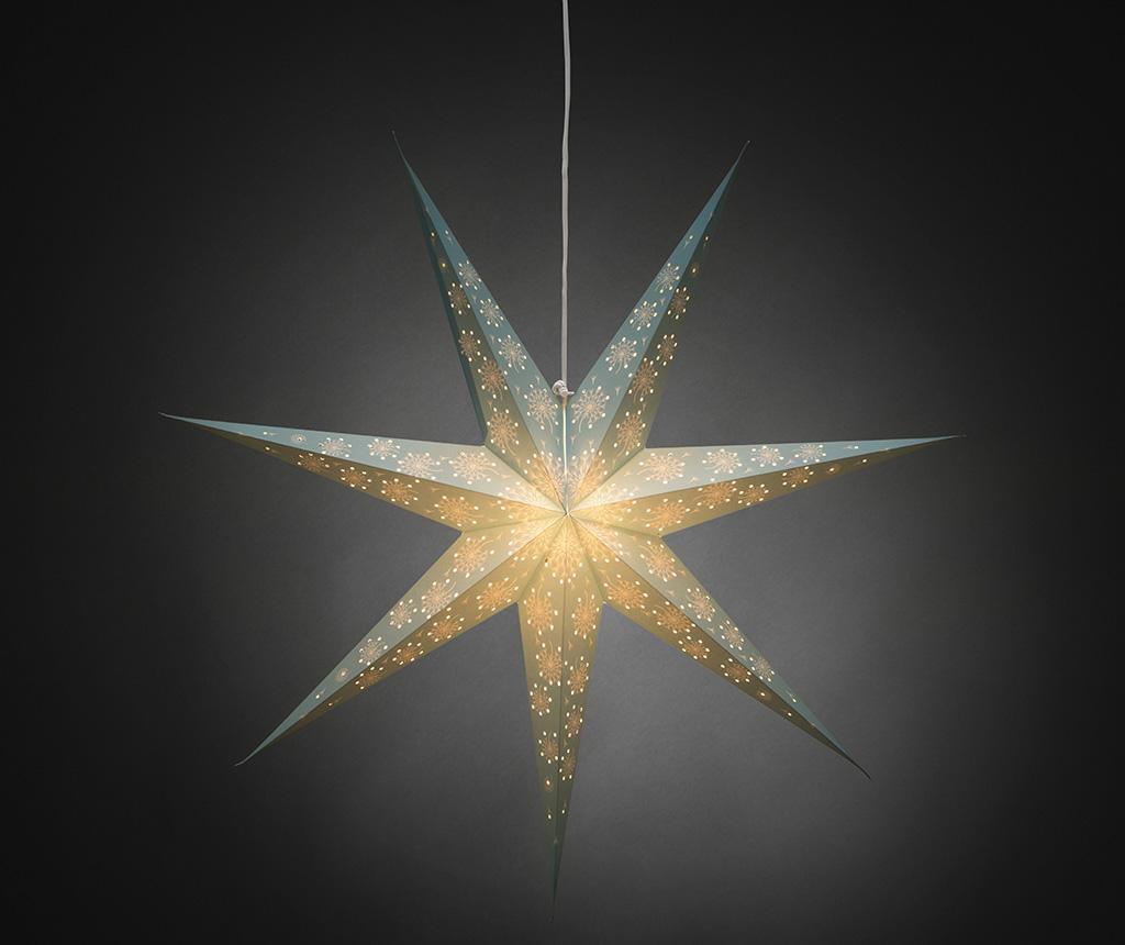 Závěsná světelná dekorace Blue Star