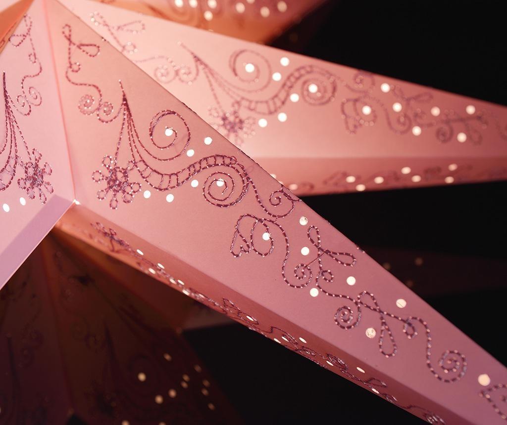 Decoratiune luminoasa suspendabila Pink Stitching