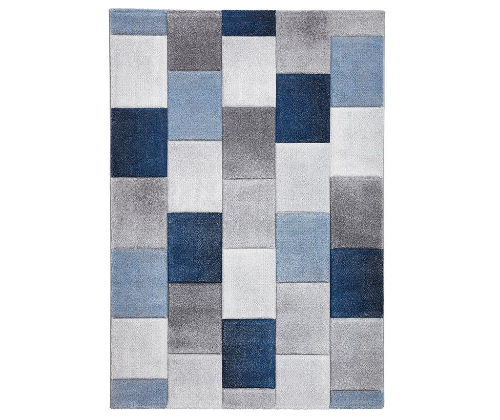 Preproga Brooklyn Grey and Blue 120x170 cm