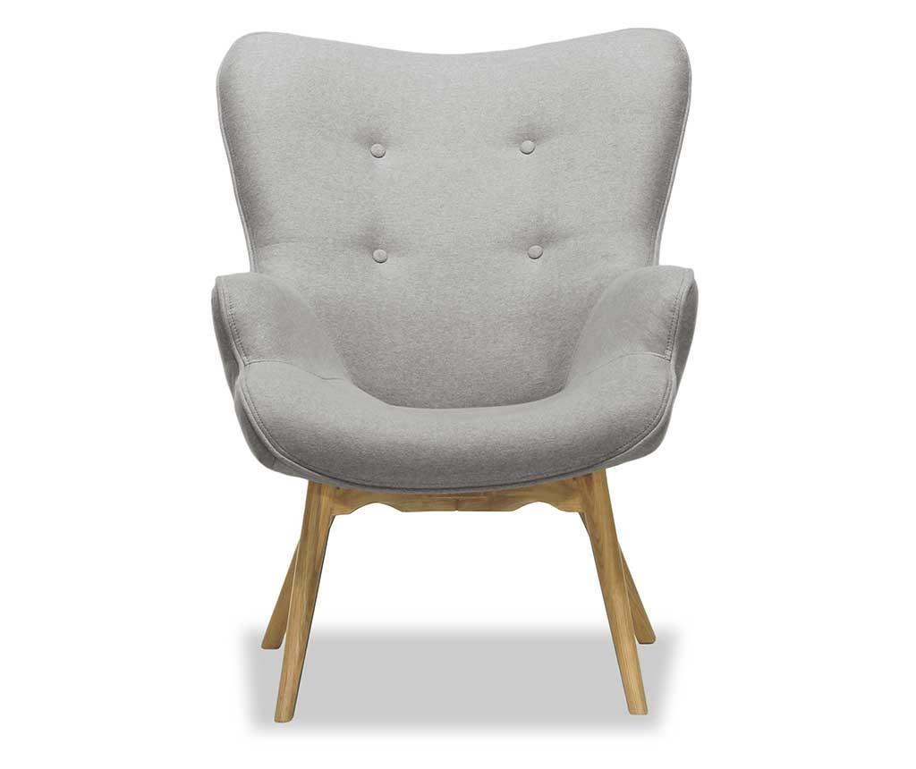 Fotelja Ducon Ontario Cream Grey