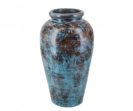 Aged Blue Váza