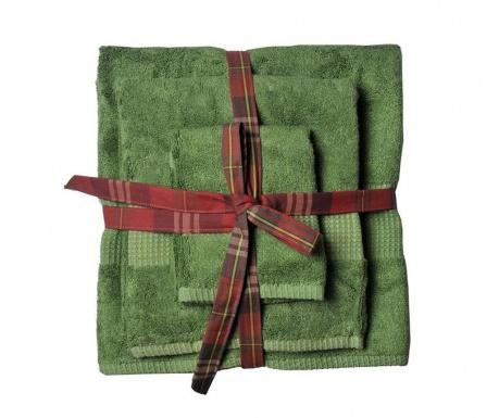Комплект 3 кърпи за баня Phuket Emerald