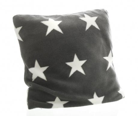 Prevleka za blazino Stars Dark Grey 45x45 cm