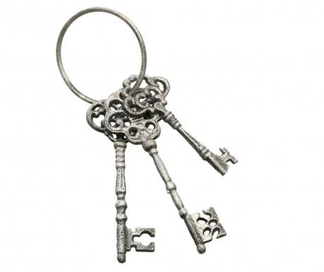 Dekorácia Silver Keys