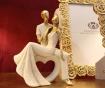 Decoratiune Couple Charm Heart