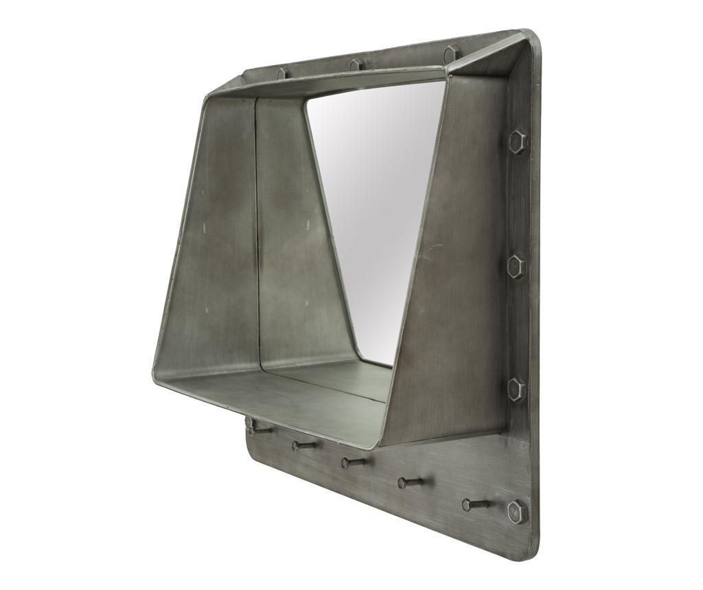Obešalnik z ogledalom Bolt